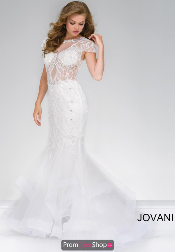 Jovani Sleeved Fitted Dress 50220