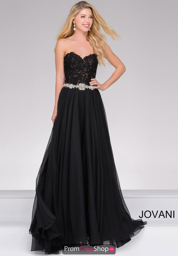 Jovani Long A Line Dress 74416