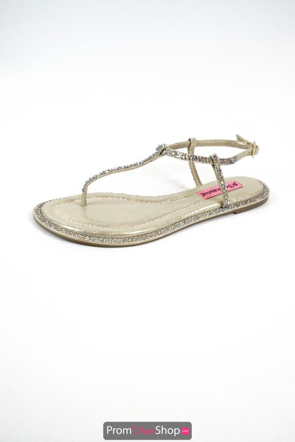 Betsey Johnson Style Fadeout Sandals