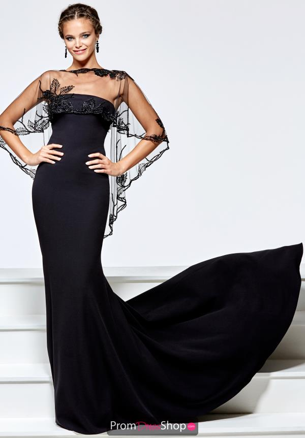 Tarik Ediz Fitted Strapless Dress 93163