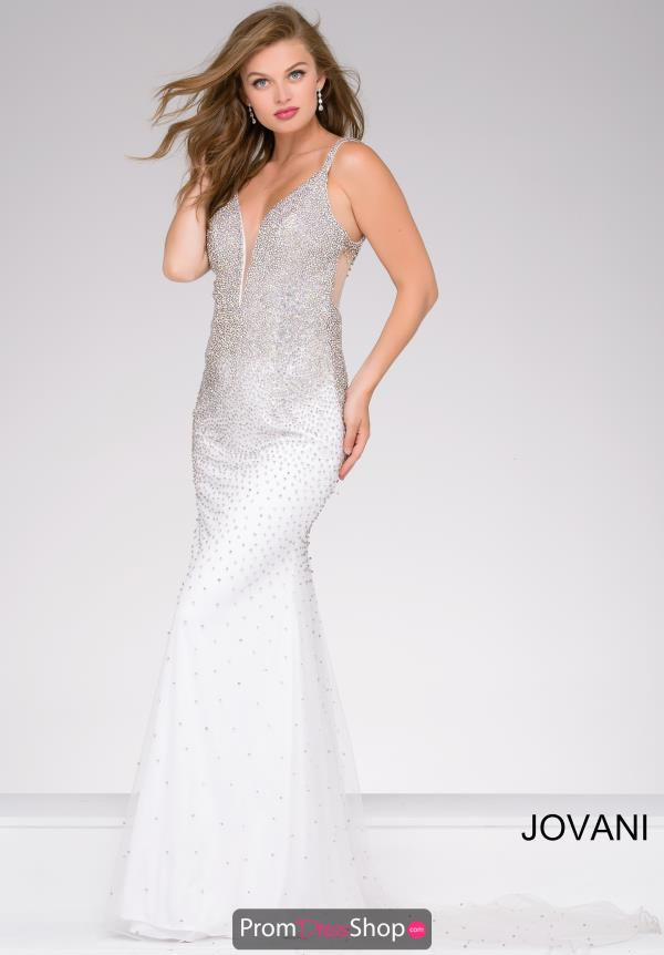 Jovani Long Fitted Dress 42700
