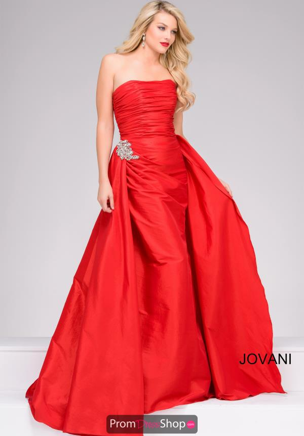 Jovani Beaded Long Dress 45079