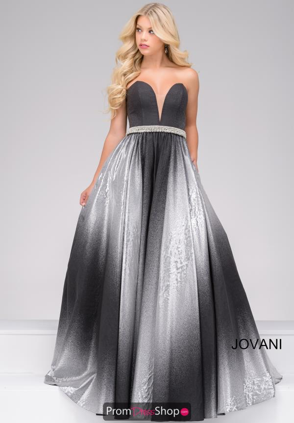 Jovani Long A Line Dress 45305