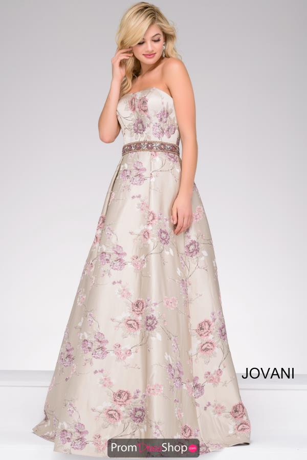 Jovani Strapless Long Dress 45740