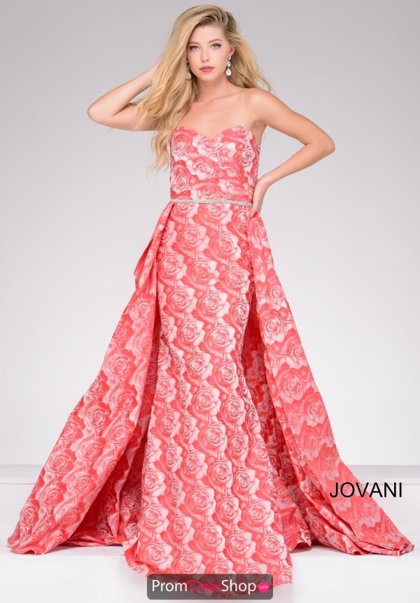 Jovani Sweetheart Fitted Dress 45934