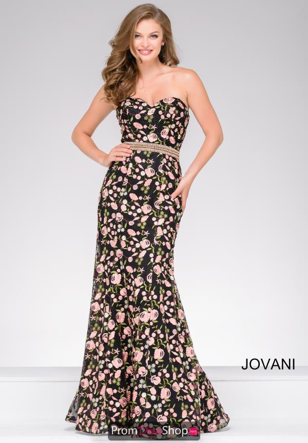 Jovani Long Fitted Dress 47739