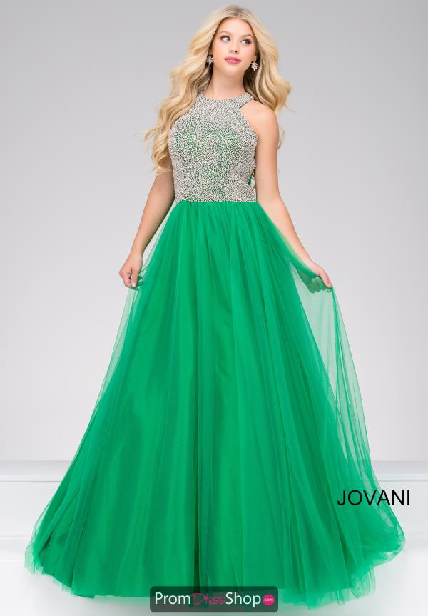 Jovani Tulle Long Dress 48942