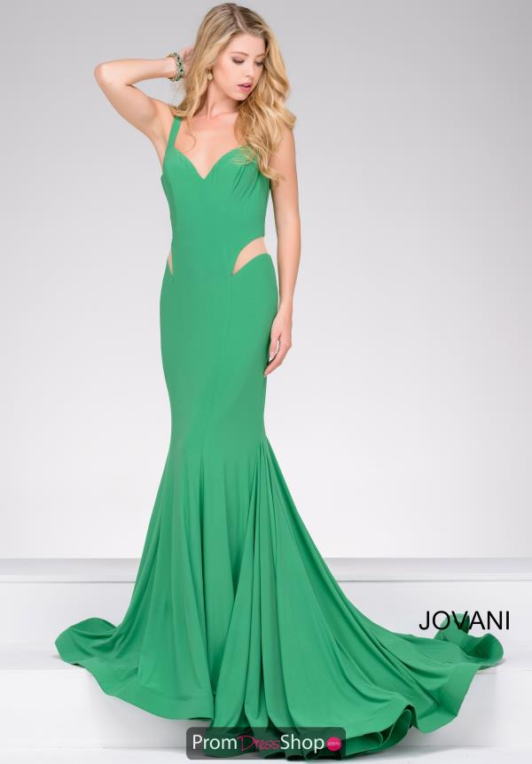 Jovani Long Fitted Dress 49252