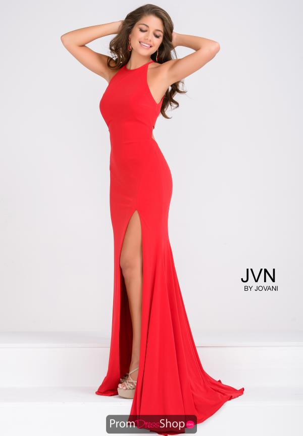 Long Fitted JVN by Jovani Dress JVN43004