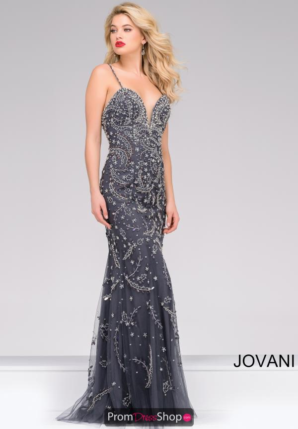 Long Fitted Jovani Dress 33704