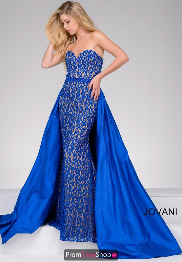 Jovani Lace Mermaid Dress 35052