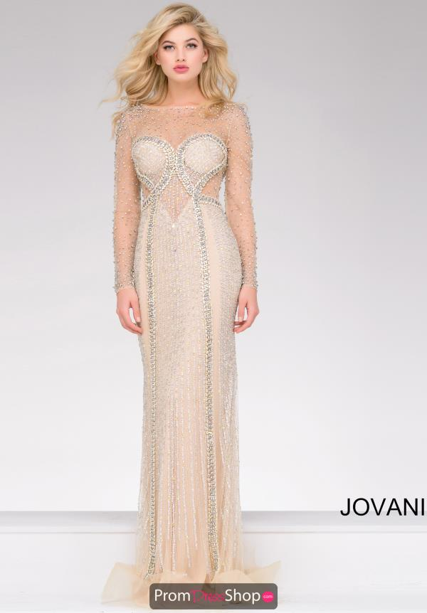 Jovani Beaded Dress 39844