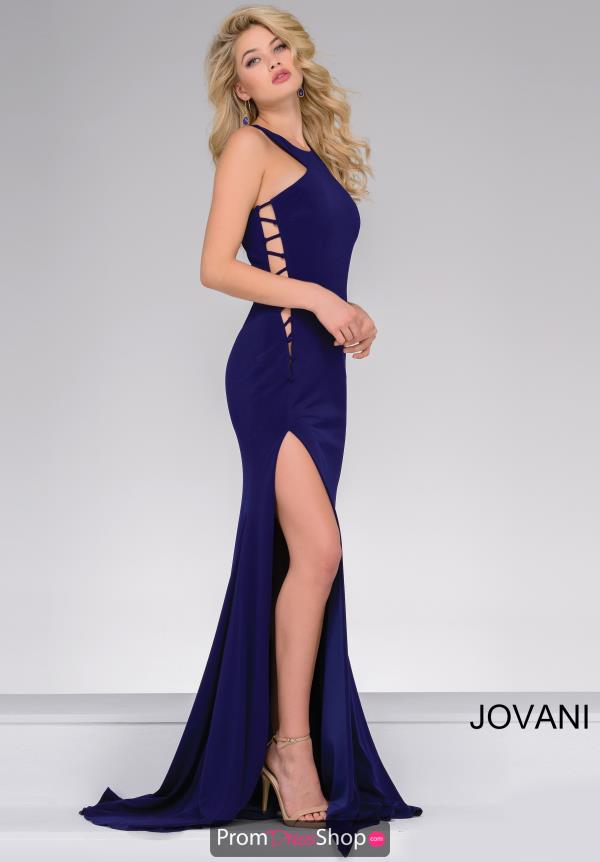 High Neckline Jersey Jovani Dress 42344