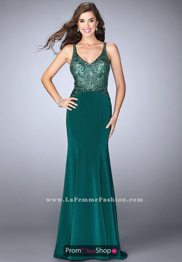 Gigi Fitted Long Dress 23909