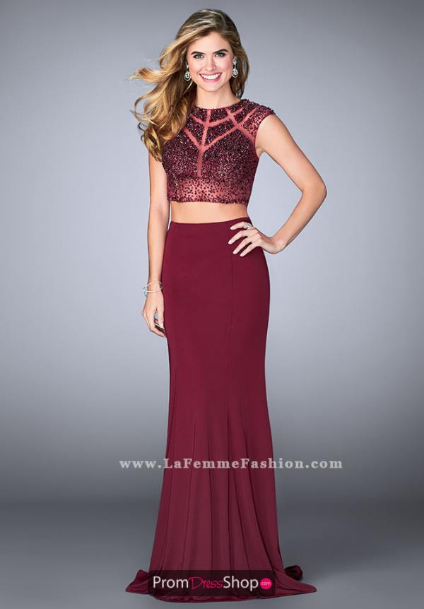 Gigi Beaded Two Piece Dress 23910