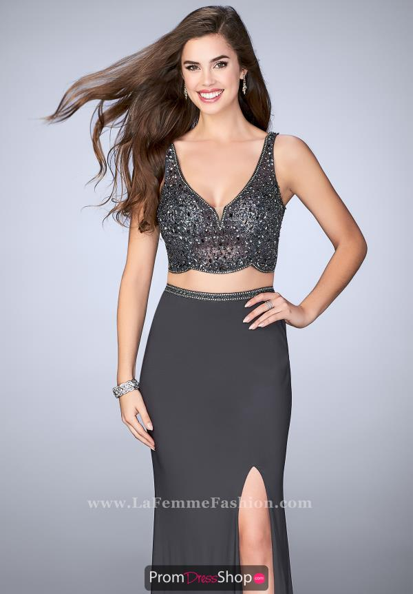 Gigi Beaded Two Piece Dress 23913