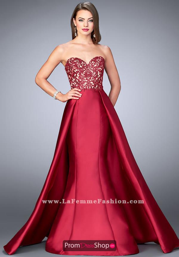 Gigi Strapless Mikado Long Dress 24146