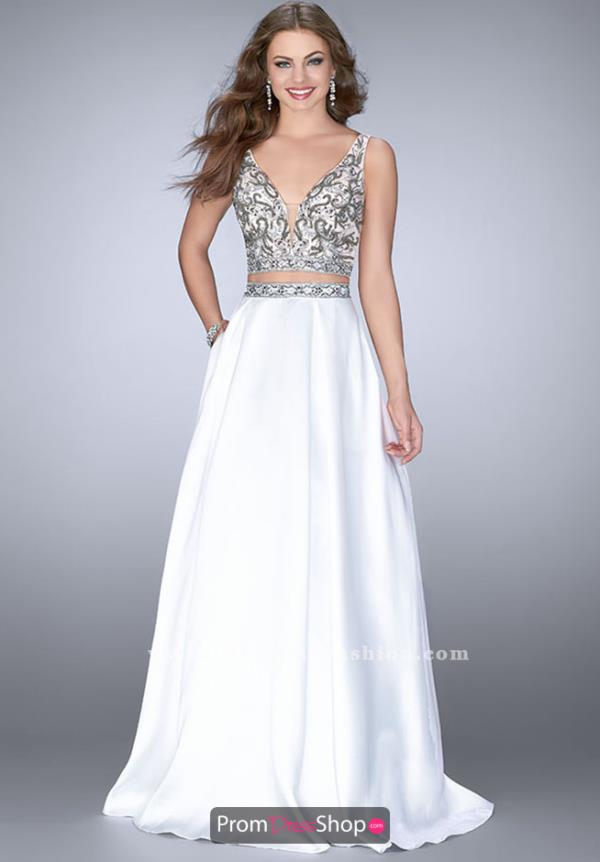 Gigi Beaded V-Neck Dress 24397