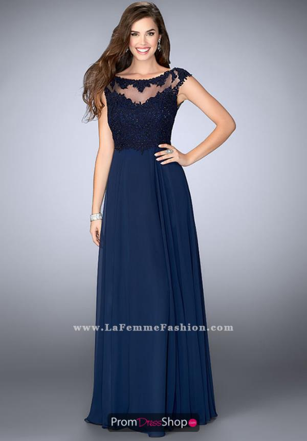 Gigi Long Blue Dress 24572