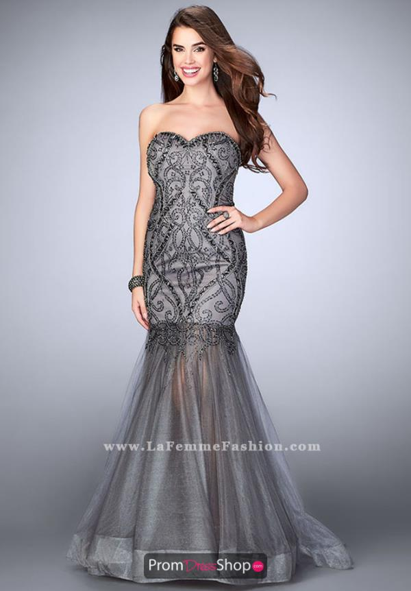 Gigi Strapless Long Fitted Dress 24616