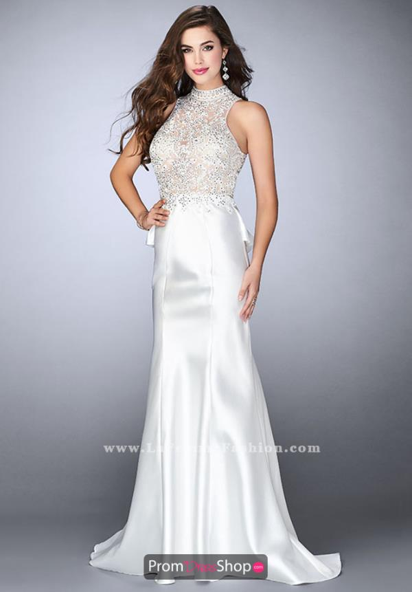 Gigi High Neckline Mermaid Dress 24651