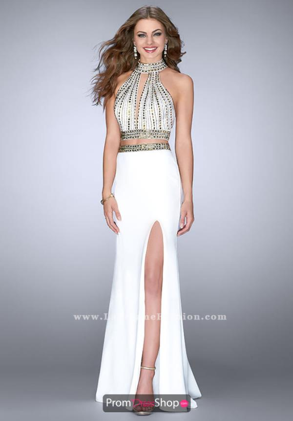 Beaded Jersey La Femme Dress 23700