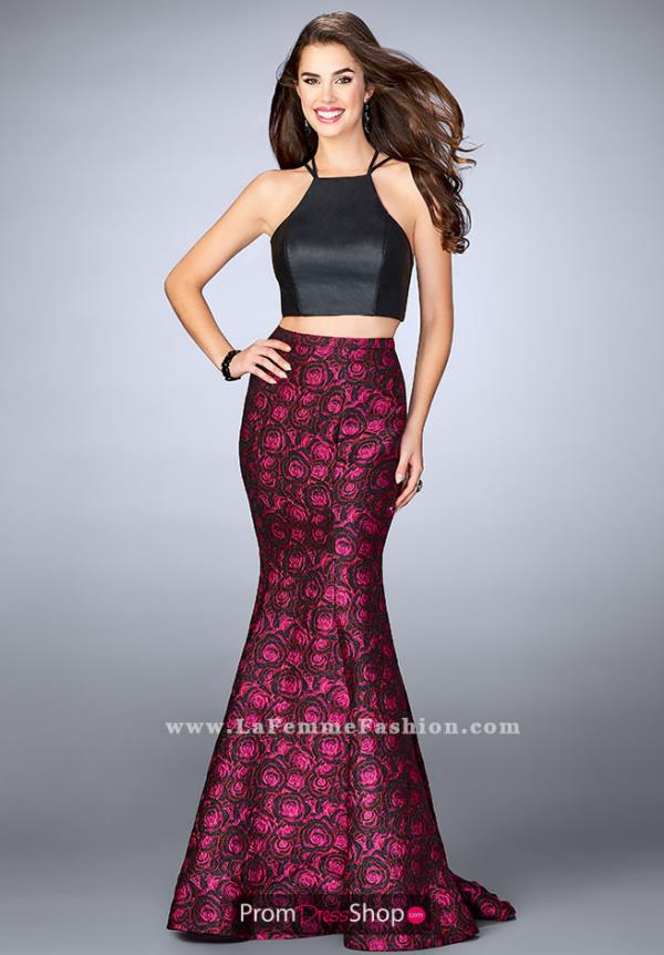 La Femme Long Mermaid Dress 23864