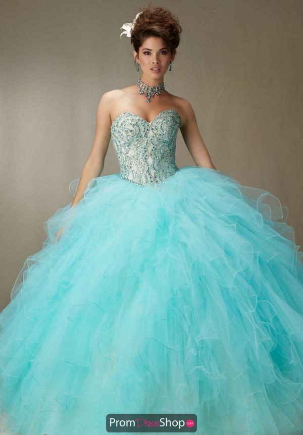 Vizcaya Quinceanera Stunning Beaded Gown 89068