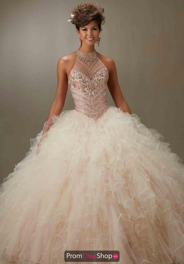 Vizcaya Quinceanera Ruffled Skirt Ball Gown 89070