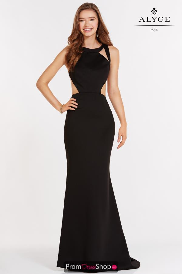 Alyce Paris Fitted Long Dress 8004