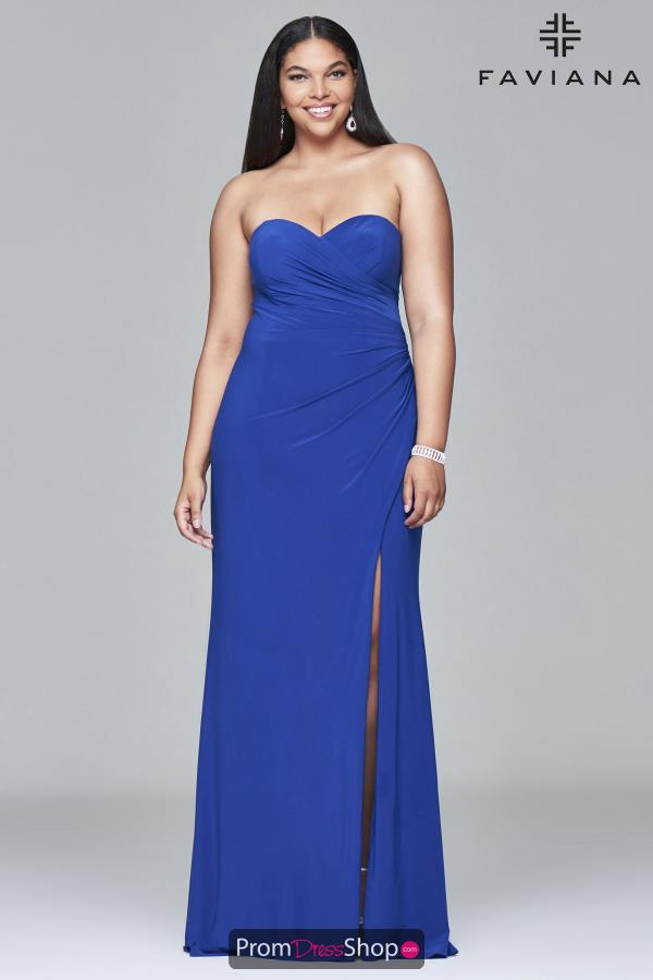 Faviana Sweetheart Neckline Long Dress 9413