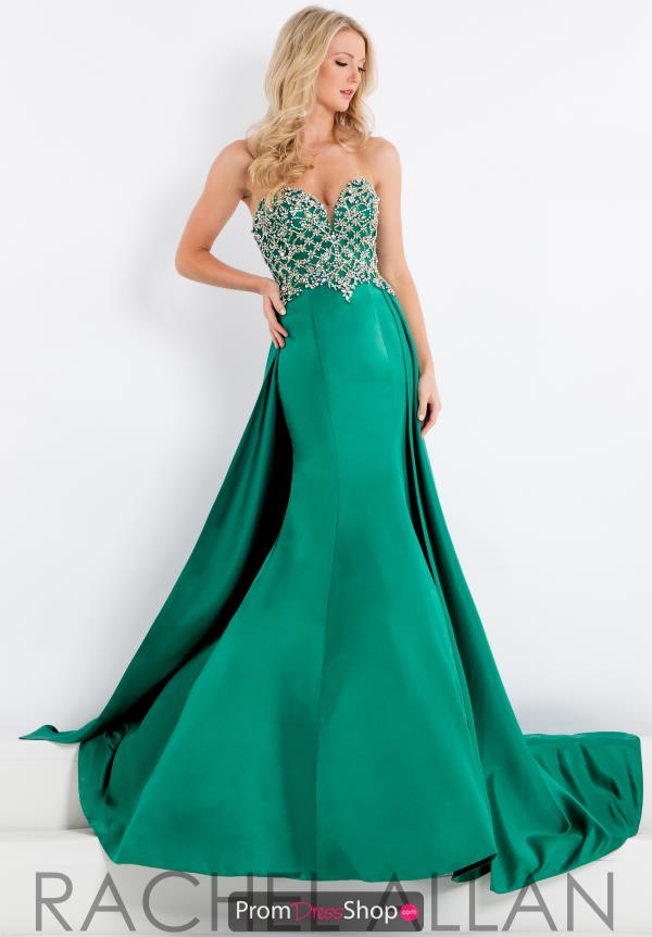 Prima Donna Pageant Fitted Long Dress 5929
