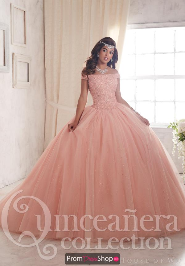 Tiffany Quince 26844 Tulle Skirt Ball Gown