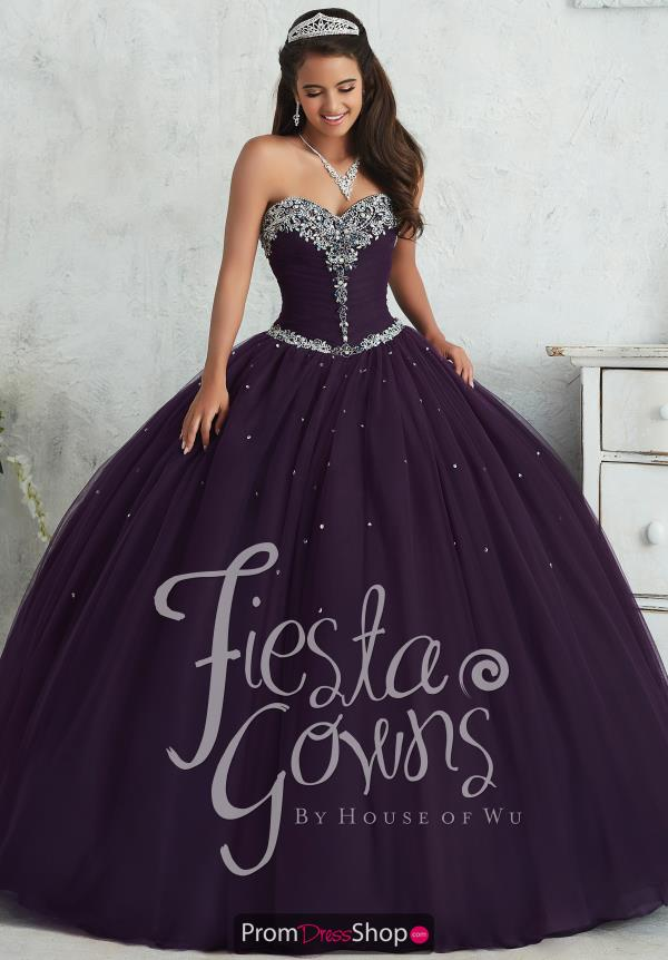 Tiffany Quince 56310 Corset Ball Gown