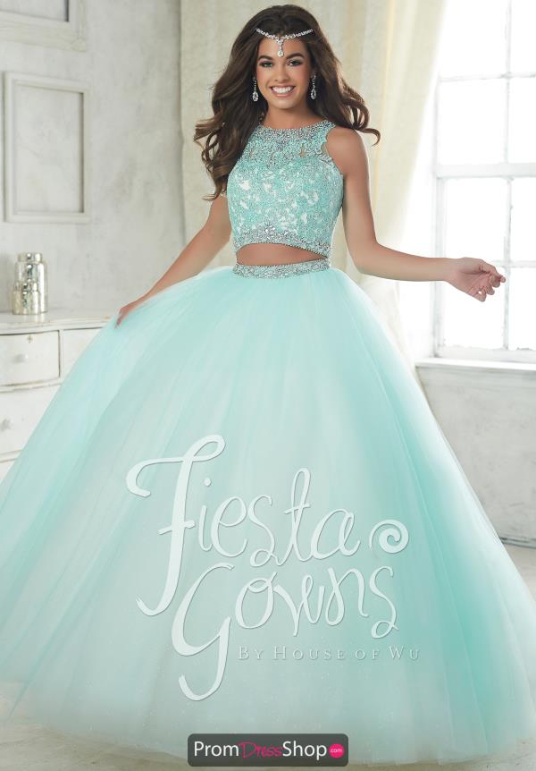 Quince 56317 Tulle Skirt Beaded Dress