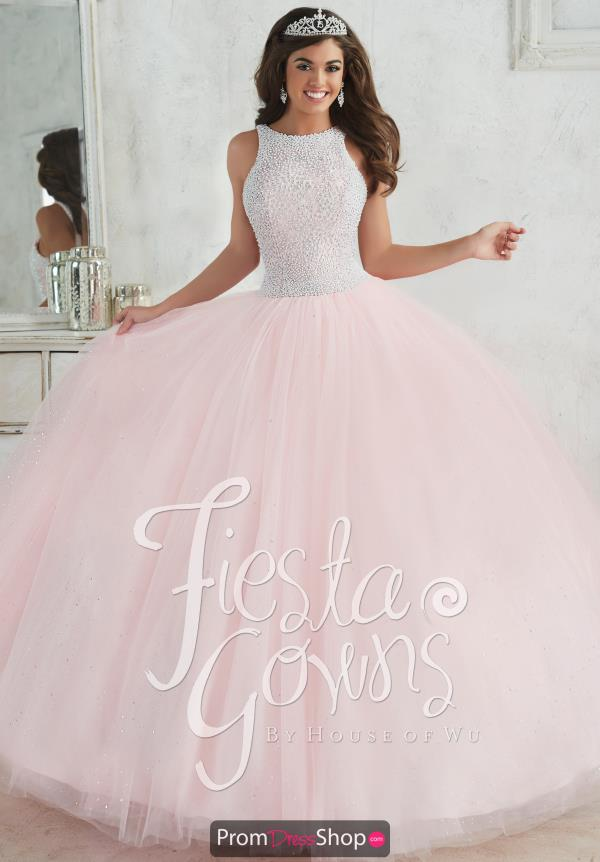 Tiffany Quince 56318 Beaded Ball Gown