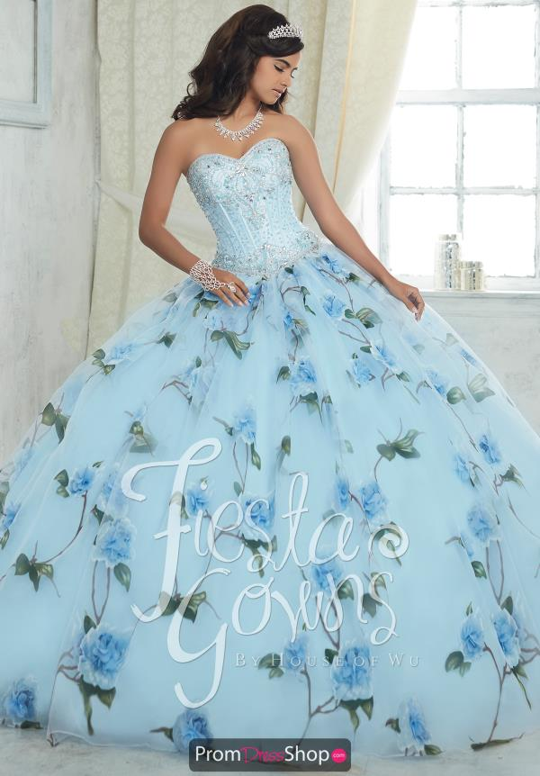 Tiffany Quince 56320 Print Ball Gown