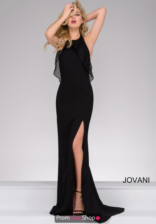 Jovani Halter Fitted Dress 27686