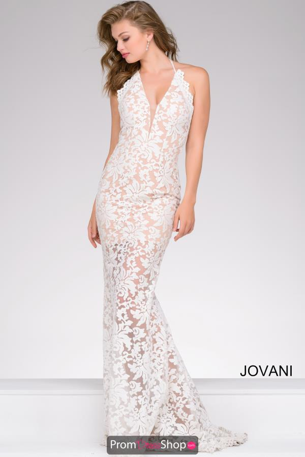 Jovani Lace Long Dress 40116