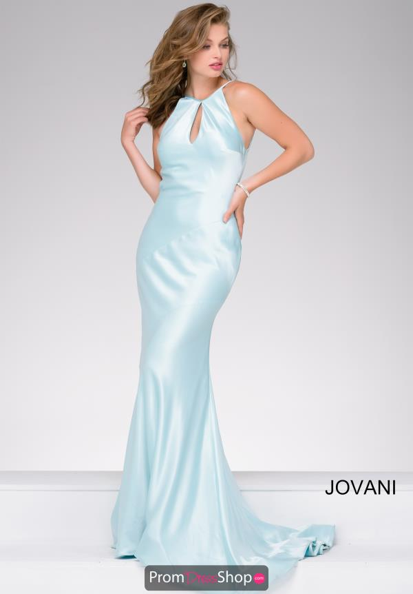 Jovani Satin Long Dress 40961
