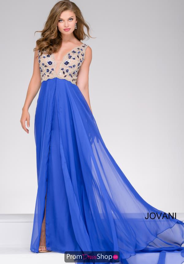 Jovani A Line Chiffon Dress 40979