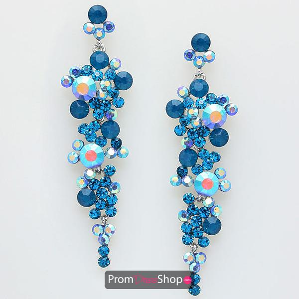 Vibrant Turquoise Earrings EVE0123
