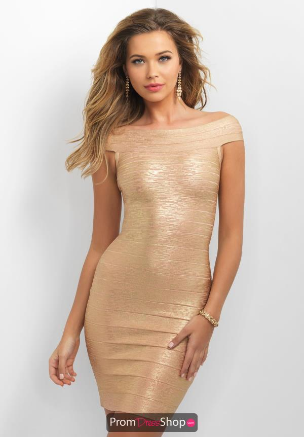 Blush Bandage Fitted Dress C372