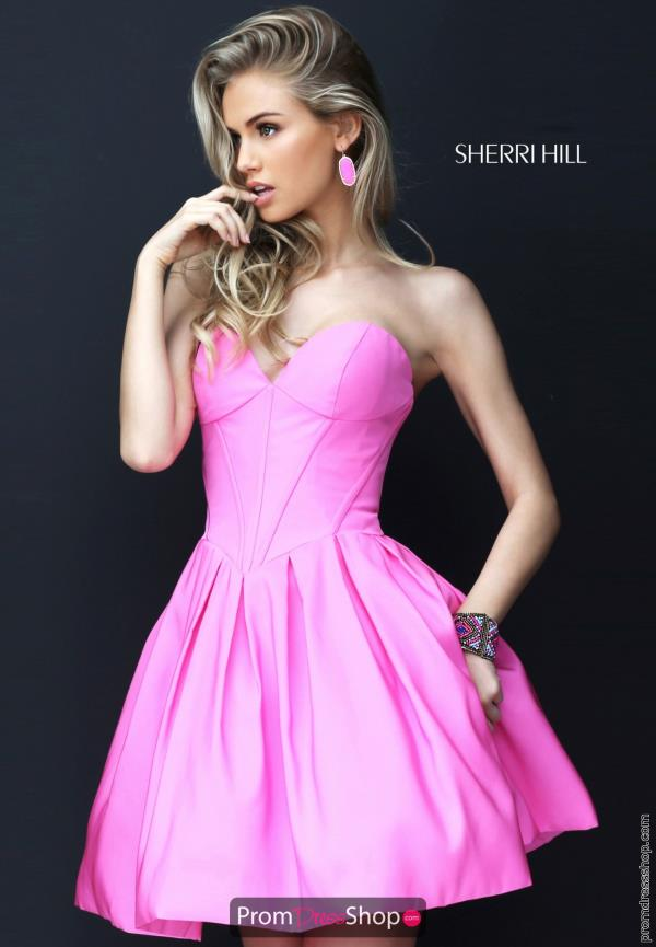 Sherri Hill Short A Line Dress 50501