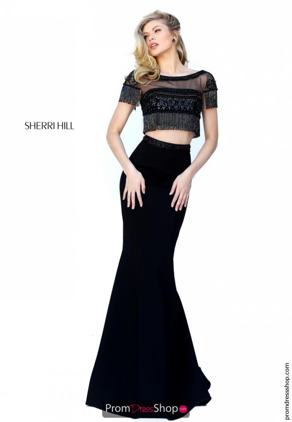 Long Fitted Sherri Hill Dress 50539