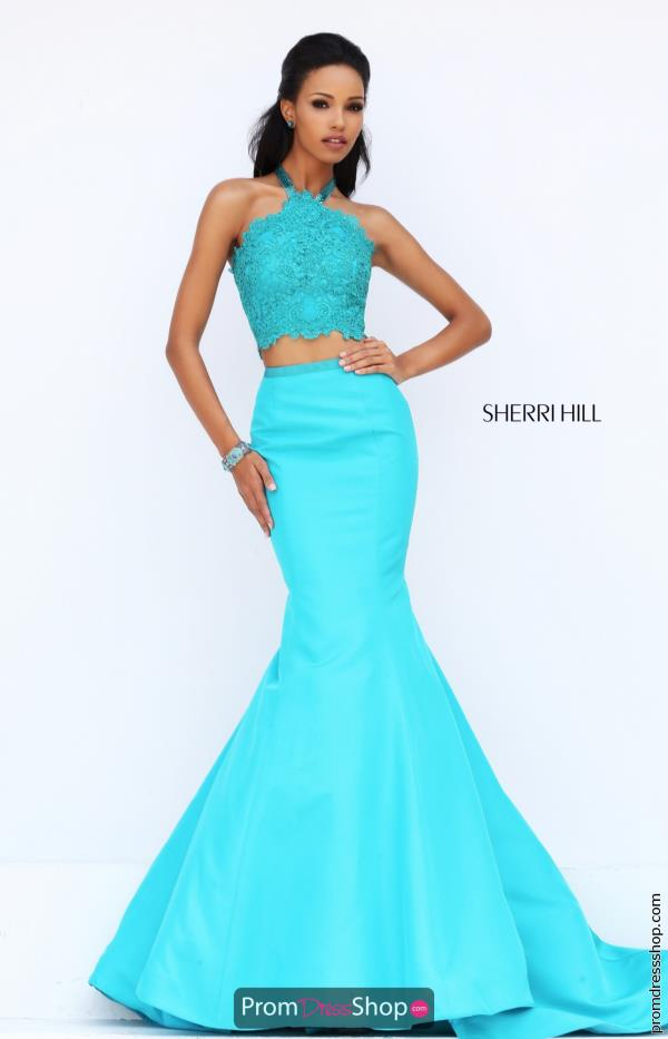 Sherri Hill Taffeta Mermaid Dress 50419