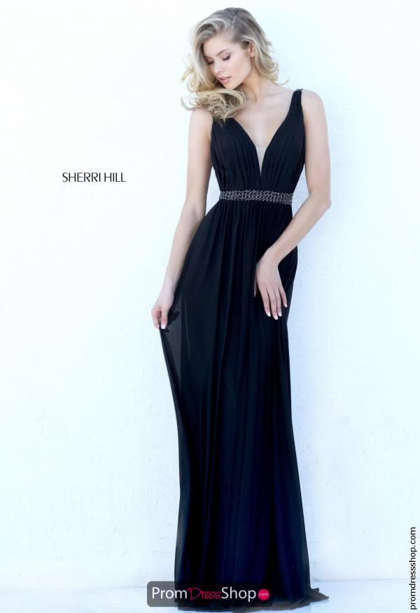Sherri Hill Long Fitted Dress 50760