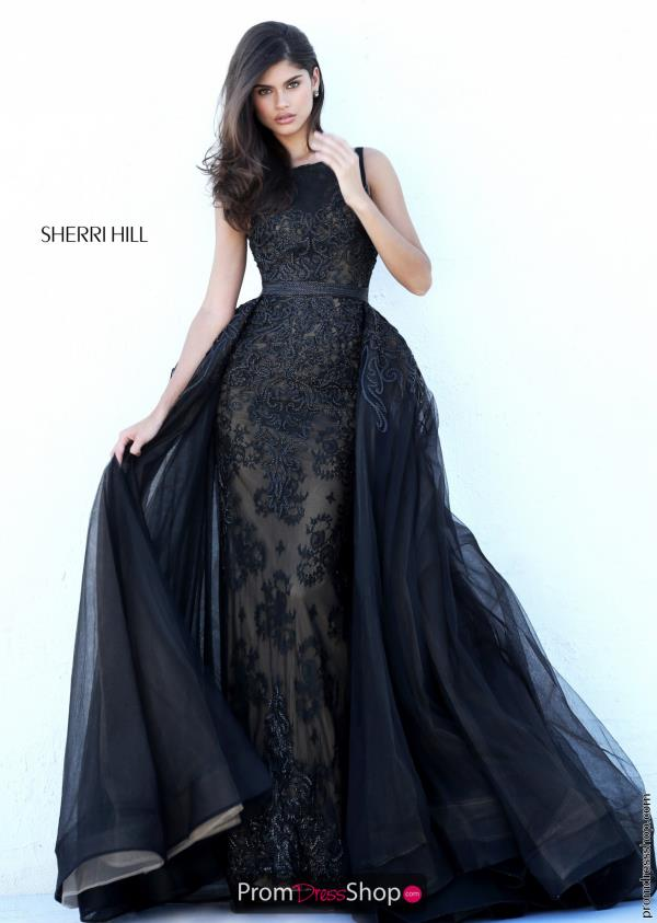 Sherri Hill Long Fitted Dress 50768