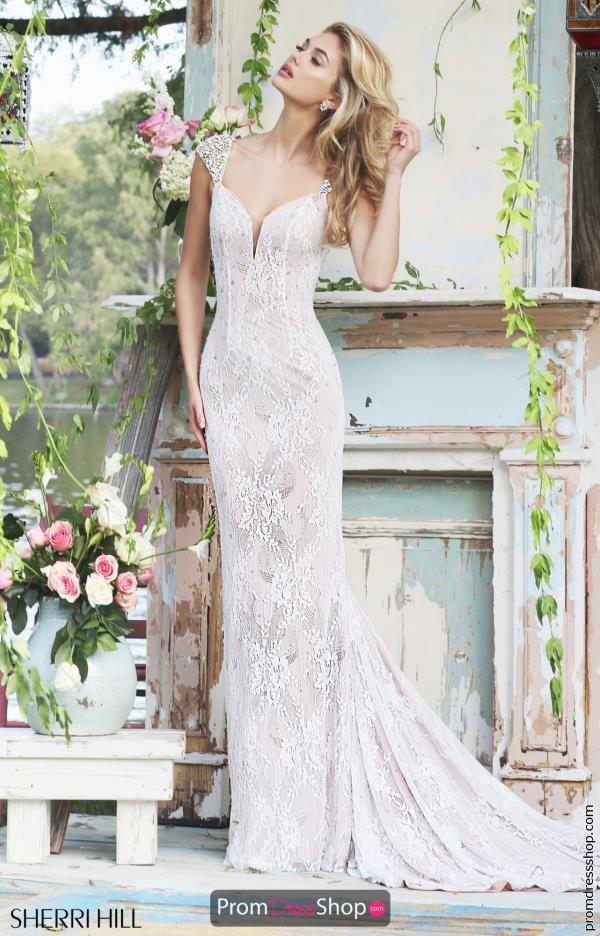 Sherri hill dress 50048 for Wedding dress sherri hill