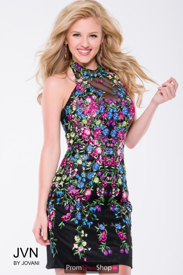 JVN by Jovani Short Print Dress JVN41433